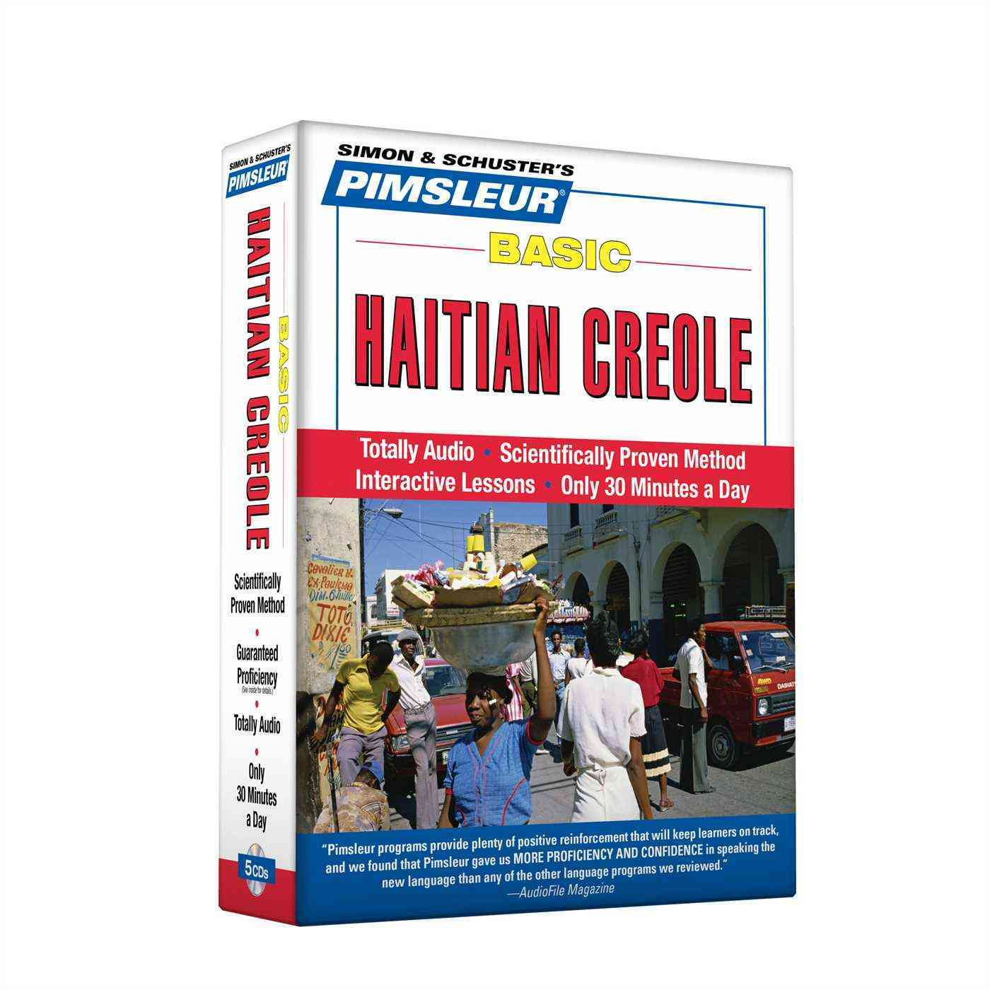 [CD] Basic Haitian Creole By Pimsleur (COR)
