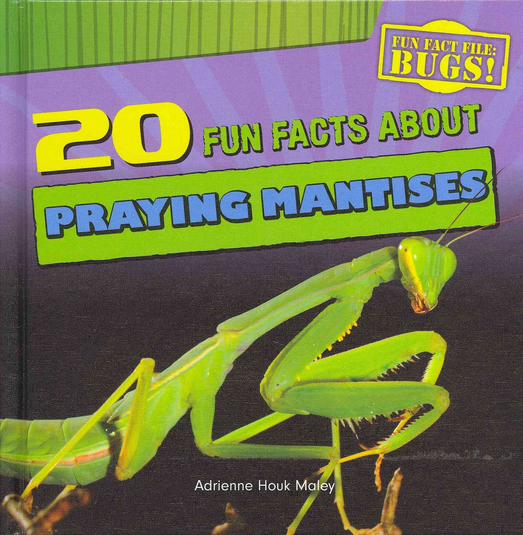 20 Fun Facts About Praying Mantises By Maley, Adrienne Houk